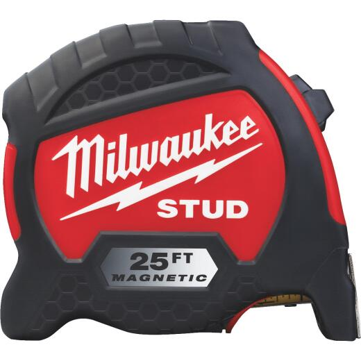 Milwaukee 25 Ft. Gen II Magnetic STUD Tape Measure